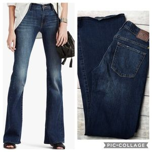 LUCKY BRAND | Olivia flare 2 26 jeans wide leg
